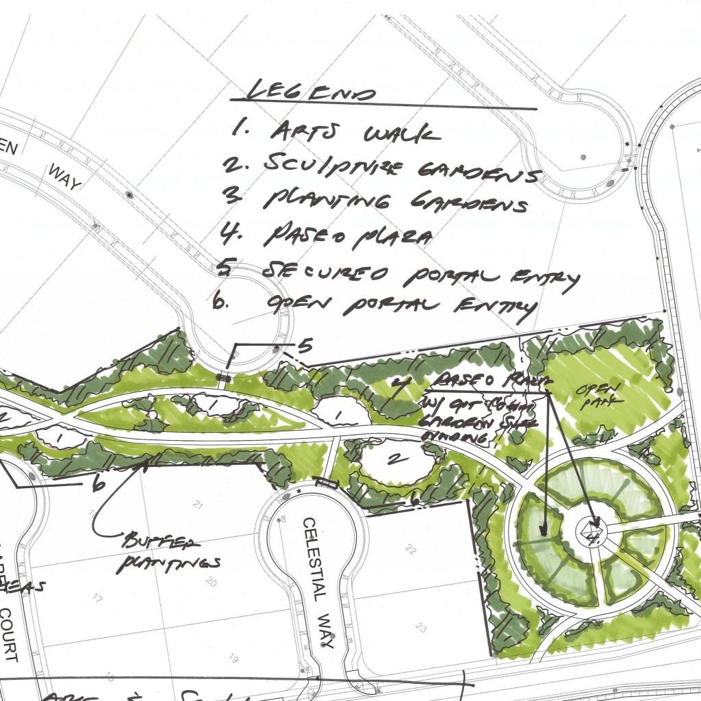 Paseo Walk Land Plan